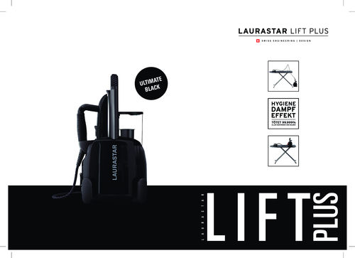 Laurastar Lift Plus Ultimate Black
